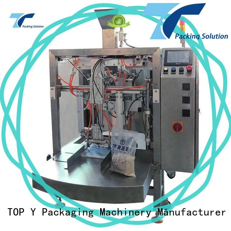 TOP Y Packaging Machinery Manufacturer price pouch filling and sealing machine from China for bag sealing