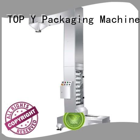 elevator feeder TOP Y Packaging Machinery Manufacturer Brand auxiliary powder pouch packing machine