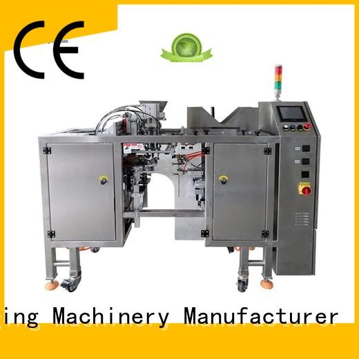 TOP Y Packaging Machinery Manufacturer Brand efficient zipper Top Y powder pouch packing machine