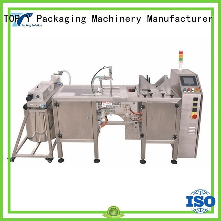TOP Y Packaging Machinery Manufacturer Brand packaging pouch sachet horizontal packaging machine