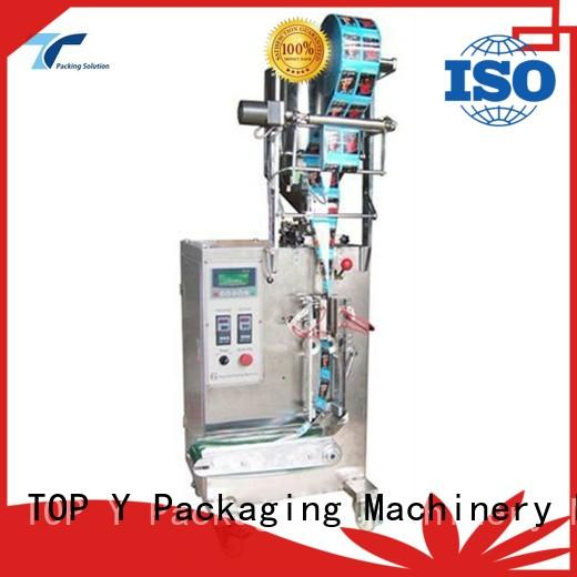 TOP Y Packaging Machinery Manufacturer milk automated packaging machine customized for factory
