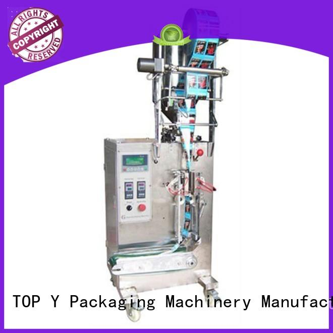 automatic vertical form fill seal packaging machines dxd50f for powder TOP Y Packaging Machinery Manufacturer