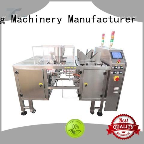 TOP Y Packaging Machinery Manufacturer quality stand pouch packing machine price customized for bag making