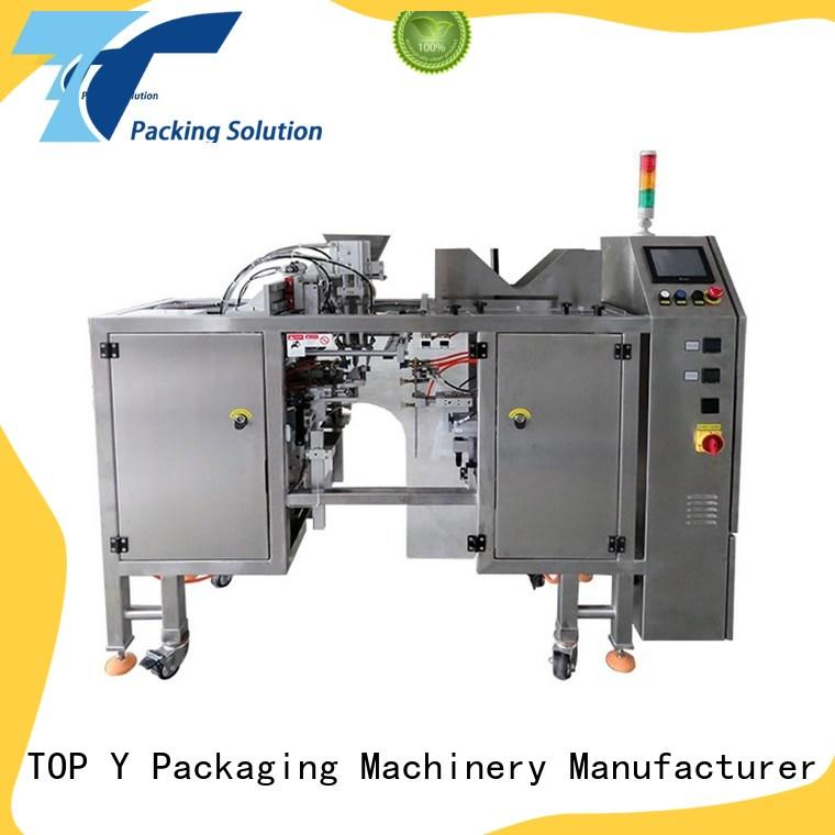 TOP Y Packaging Machinery Manufacturer automatic automatic pouch packing machine series for bag making