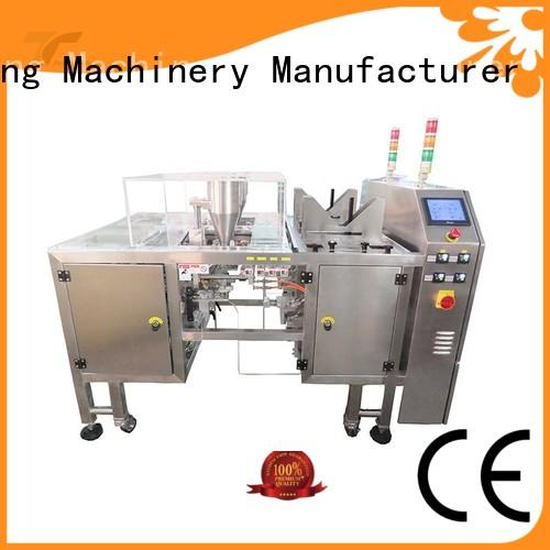 TOP Y Packaging Machinery Manufacturer automatic small pouch packing machine filling for bag outfeed