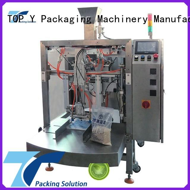 TOP Y Packaging Machinery Manufacturer hot selling premade pouch packing machine customized for bag filling