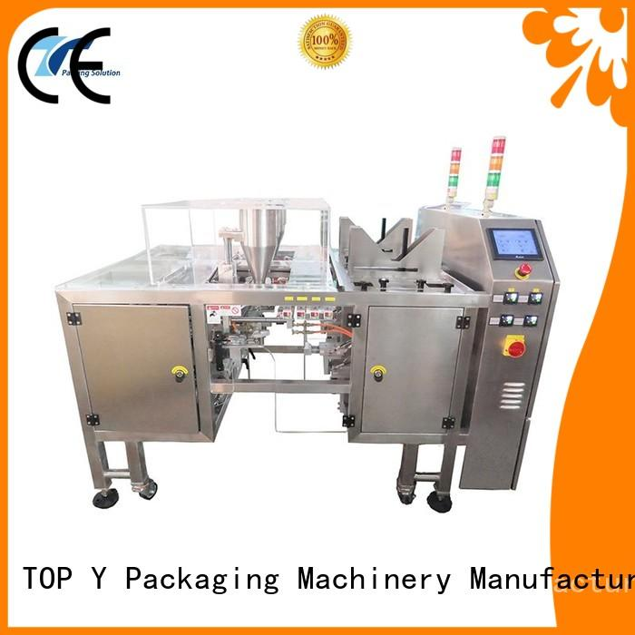 Hot pouch packing machine manufacturer top selling TOP Y Packaging Machinery Manufacturer Brand