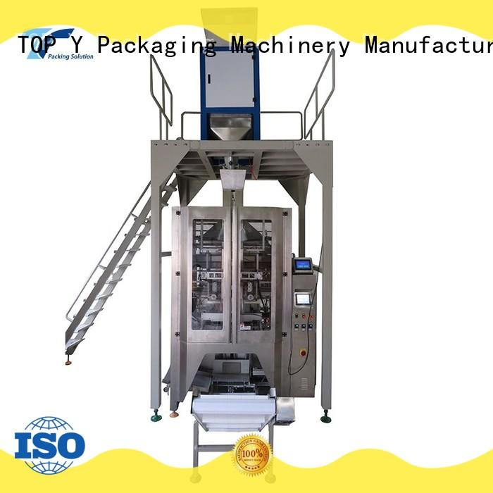 TOP Y Packaging Machinery Manufacturer automatic automated packaging machine with good price for bag outfeed