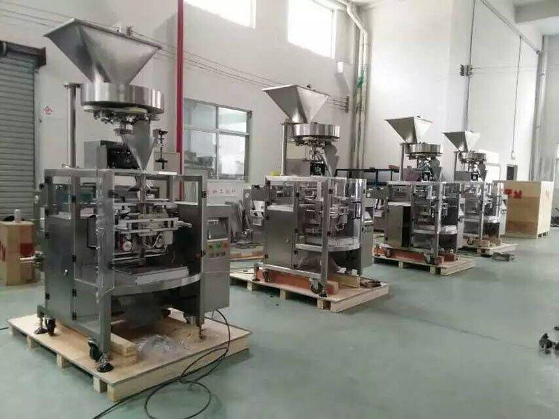 VFFS Vertical Forming Filling and Sealing Packaging Machine+Vometric Cup Filler