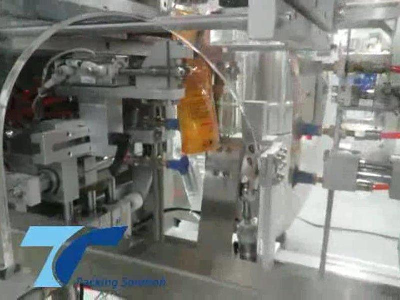 Top Y powder packing machine system