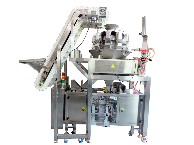 TOP Y Packaging Machinery Manufacturer hot selling sachet packing machine from China for bag outfeed-8