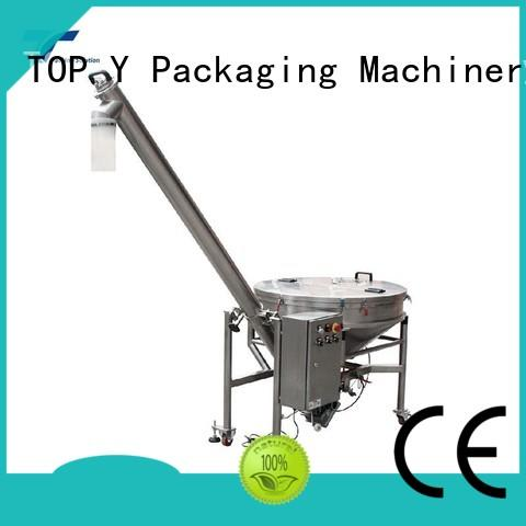 TOP Y Packaging Machinery Manufacturer vibratory form fill seal packaging machine auxiliary supplier for bag sealing