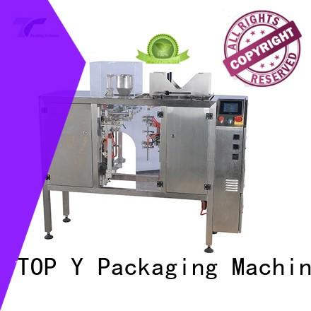 TOP Y Packaging Machinery Manufacturer price ffs pouch packing machine from China for bag outfeed