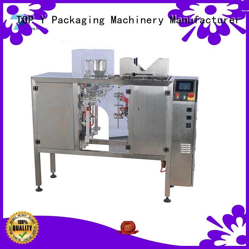 powder pouch packing machine filling gusset bags TOP Y Packaging Machinery Manufacturer Brand