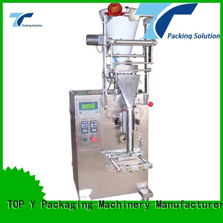 elevator vertical form fill seal packaging machines ymdps sachet TOP Y Packaging Machinery Manufacturer Brand