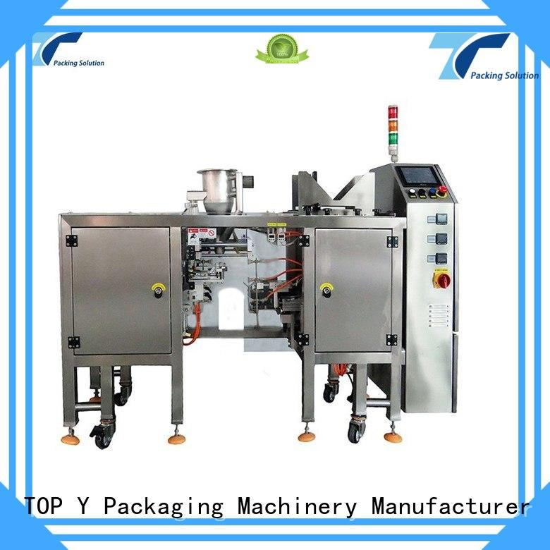 powder pouch packing machine Top Y vertical Warranty TOP Y Packaging Machinery Manufacturer