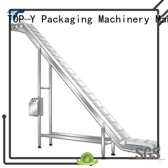 TOP Y Packaging Machinery Manufacturer top auxiliary form fill seal machine manufacturer factory price for bag outfeed