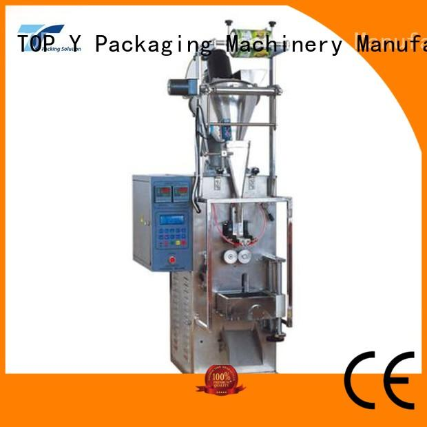 packing plastic bag automatic packing machine high quality TOP Y Packaging Machinery Manufacturer Brand