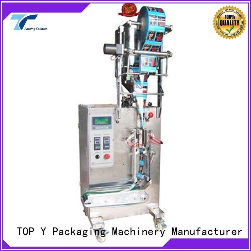 TOP Y Packaging Machinery Manufacturer hot selling filling and sealing machine from China for powder
