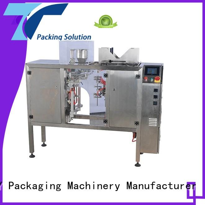 TOP Y Packaging Machinery Manufacturer adjustable stand pouch packing machine price customized for bag sealing