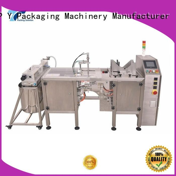 TOP Y Packaging Machinery Manufacturer systems packaging line integration design for factory