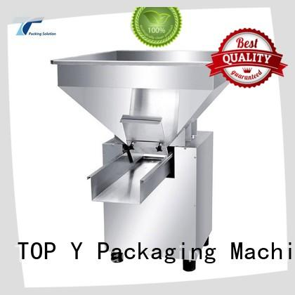TOP Y Packaging Machinery Manufacturer sturdy auxiliary form fill seal packaging machine factory price for bag outfeed