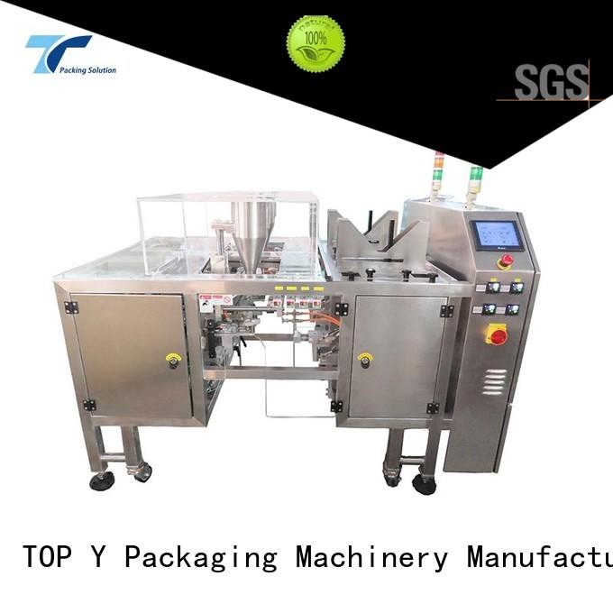 Custom professional pouch packing machine manufacturer machine TOP Y Packaging Machinery Manufacturer