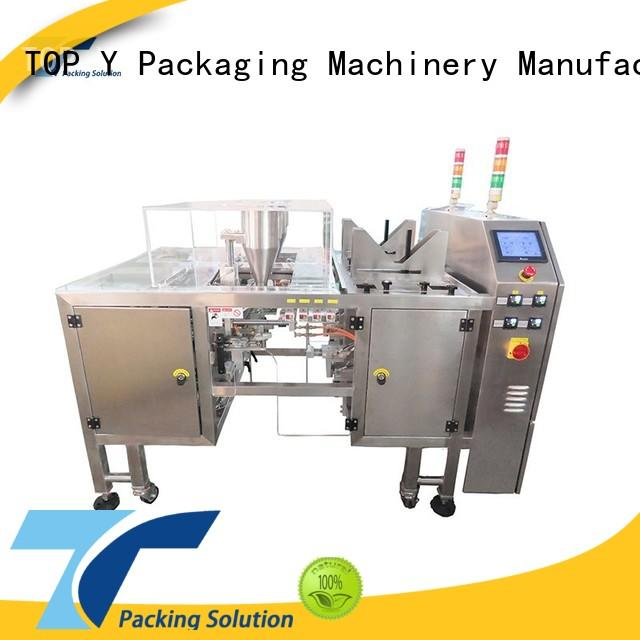 TOP Y Packaging Machinery Manufacturer hot selling mini pouch packing machine from China for bag sealing