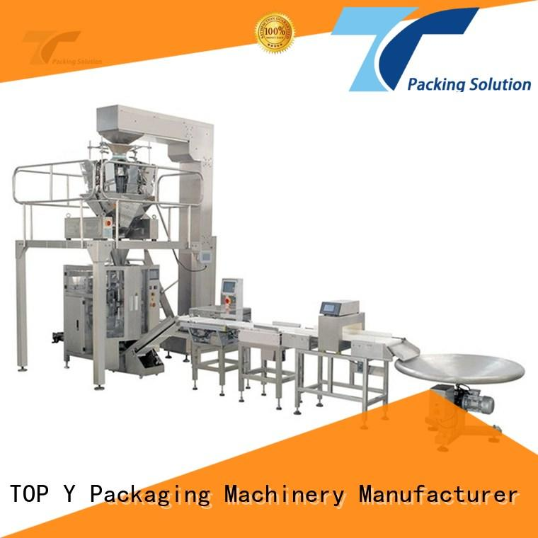 TOP Y Packaging Machinery Manufacturer durable packaging line integration with good price for industry