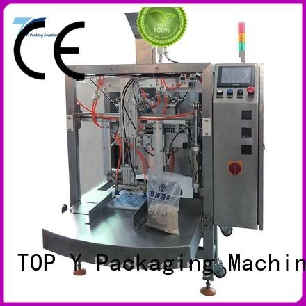 TOP Y Packaging Machinery Manufacturer Brand gusset machine pouch packing machine manufacturer manufacture