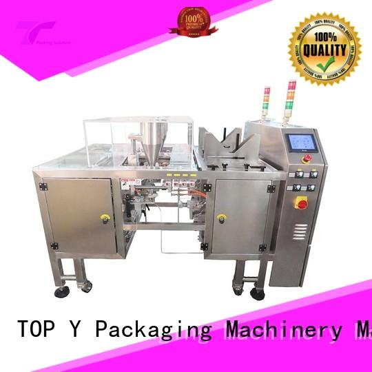 TOP Y Packaging Machinery Manufacturer price liquid pouch packing machine series for bag making