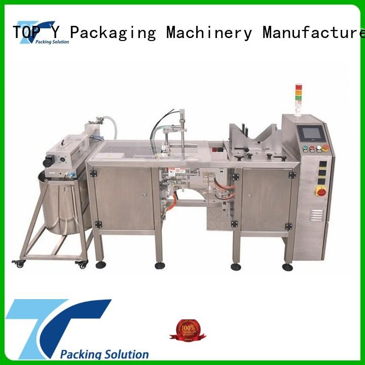 fill doypack liquid horizontal packaging machine TOP Y Packaging Machinery Manufacturer Brand