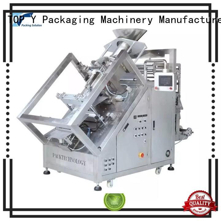 TOP Y Packaging Machinery Manufacturer Brand conveyor ymdps custom vertical form fill seal packaging machines