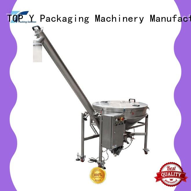 TOP Y Packaging Machinery Manufacturer bucket auxiliary form fill seal machine manufacturer factory price for bag making