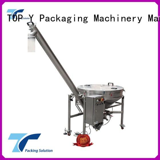 design professional OEM auxiliary vertical form fill seal packaging machines TOP Y Packaging Machinery Manufacturer