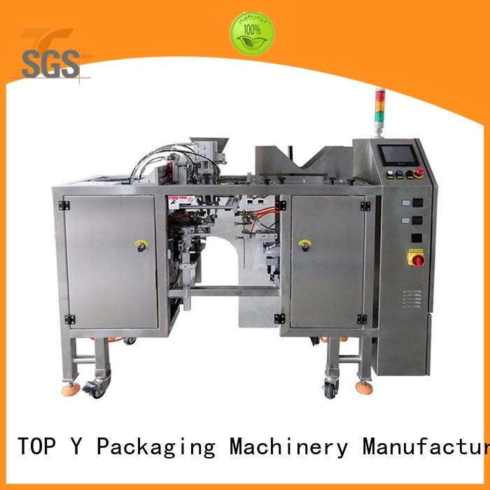 adjustable ffs pouch packing machine stand series for bag outfeed