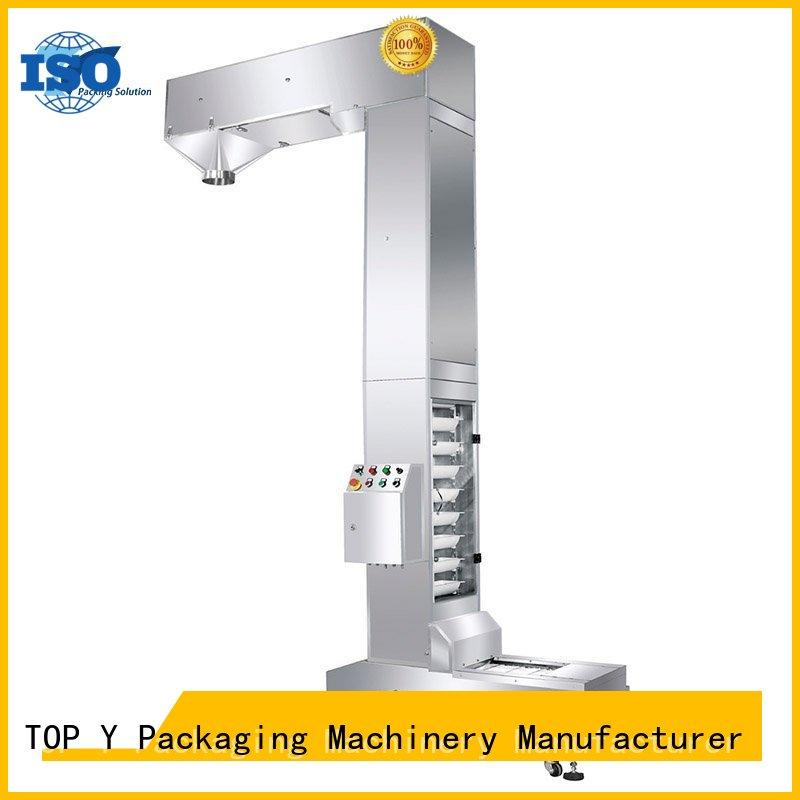 vibratory liquid auxiliary vertical form fill seal packaging machines ymdpg TOP Y Packaging Machinery Manufacturer company
