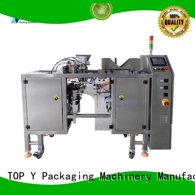 TOP Y Packaging Machinery Manufacturer Brand hot sale professional best custom powder pouch packing machine