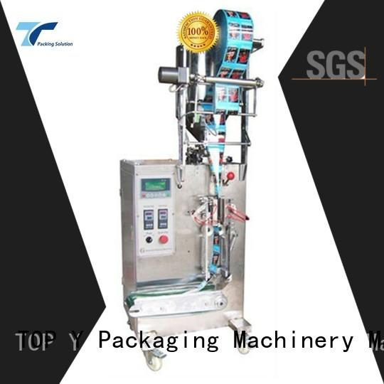 TOP Y Packaging Machinery Manufacturer small vffs packaging machine from China for milk