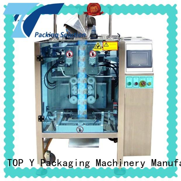 TOP Y Packaging Machinery Manufacturer stable automatic packing machine with good price for bag outfeed