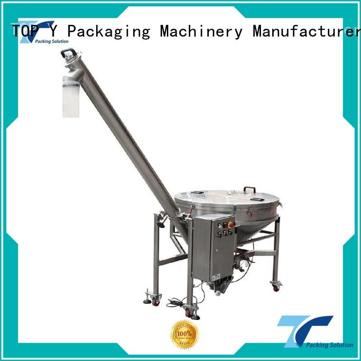 elevator doypack conveyor TOP Y Packaging Machinery Manufacturer Brand auxiliary vertical form fill seal packaging machines supp