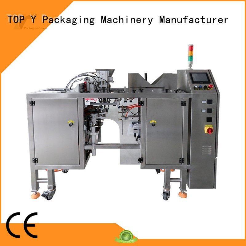 TOP Y Packaging Machinery Manufacturer adjustable pouch filling packing machine manufacturer for bag sealing