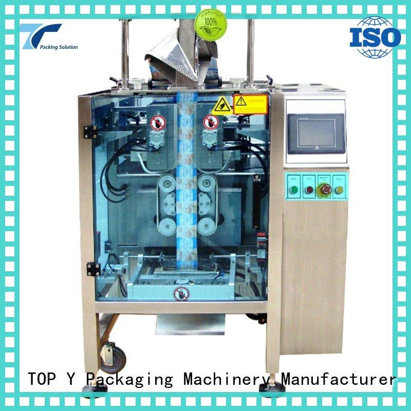 TOP Y Packaging Machinery Manufacturer bag vffs packing machine design for bag filling