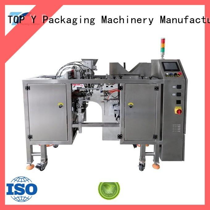 TOP Y Packaging Machinery Manufacturer stand doypack machine manufacturer for bag sealing