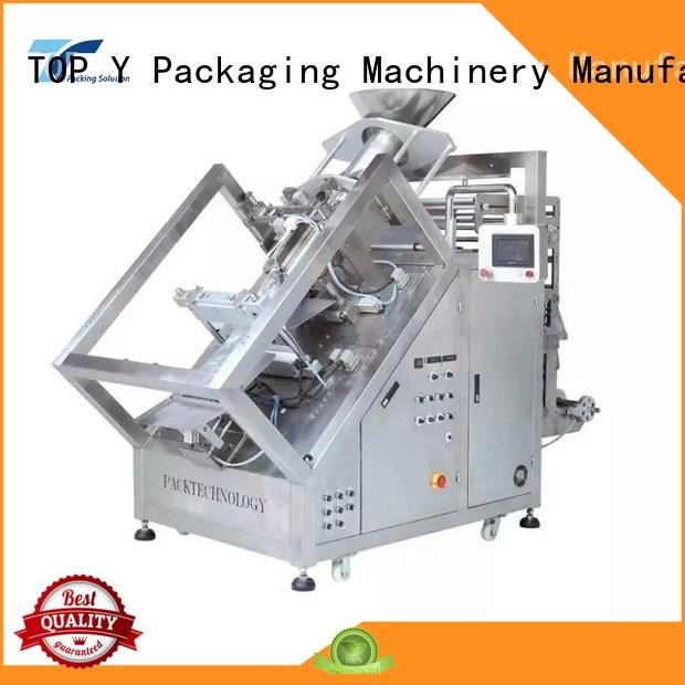 TOP Y Packaging Machinery Manufacturer automatic form fill seal machine factory for bag filling