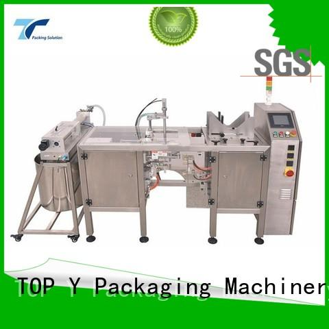 TOP Y Packaging Machinery Manufacturer Brand design feeder bag horizontal packaging machine