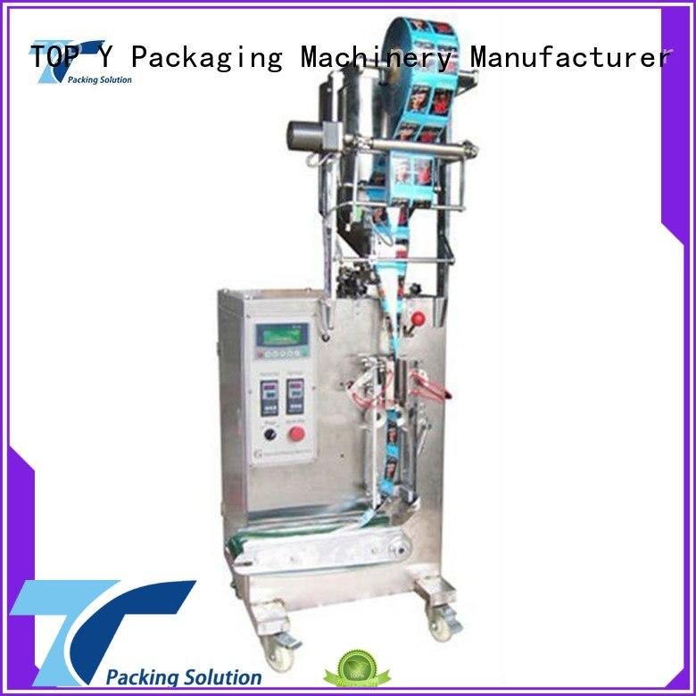 TOP Y Packaging Machinery Manufacturer automatic packing machine for food products customized for industry