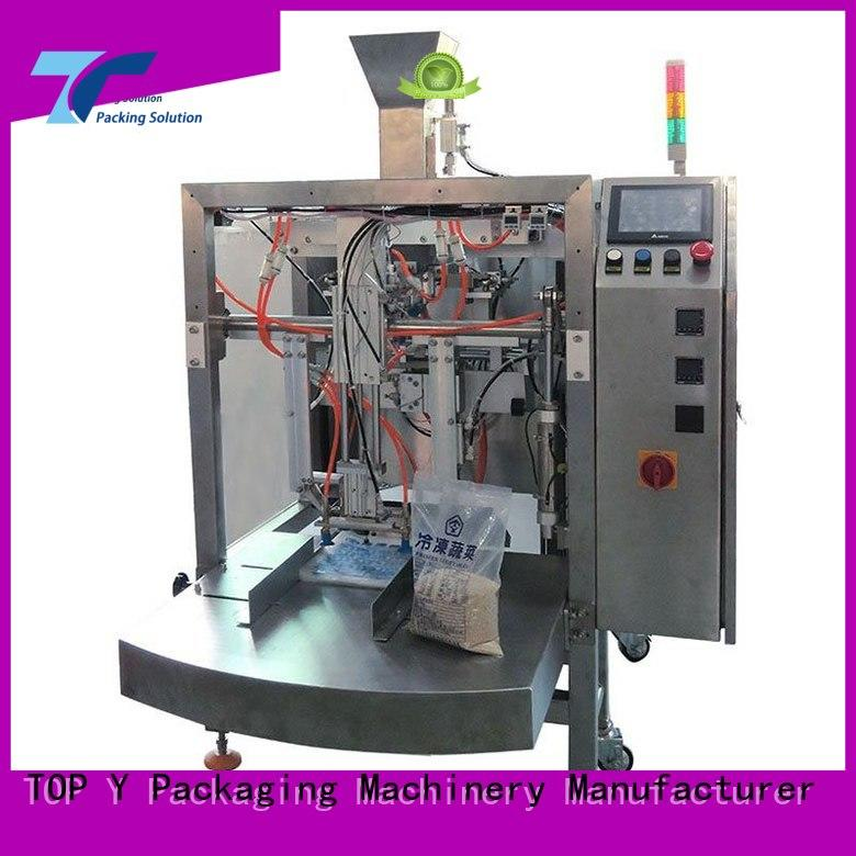 Wholesale machine powder pouch packing machine gusset TOP Y Packaging Machinery Manufacturer Brand