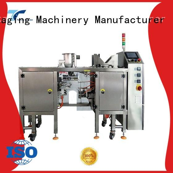 TOP Y Packaging Machinery Manufacturer doypack mini doypack machine directly sale for bag filling