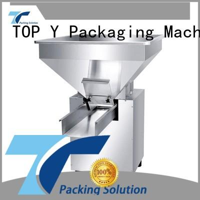 auxiliary powder pouch packing machine efficient low cost auxiliary vertical form fill seal packaging machines system TOP Y Packaging Machinery Manufacturer Brand